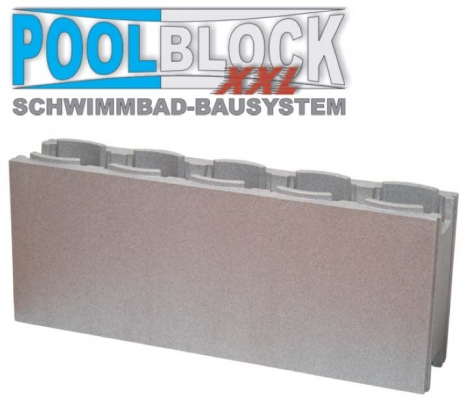 Styropor isosteine for Poolsanierung mit folie